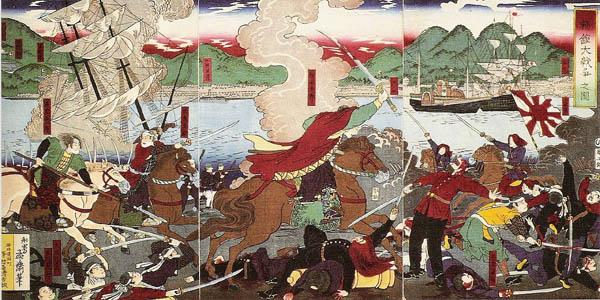 война в японии 1863-1867 битвы Витязево